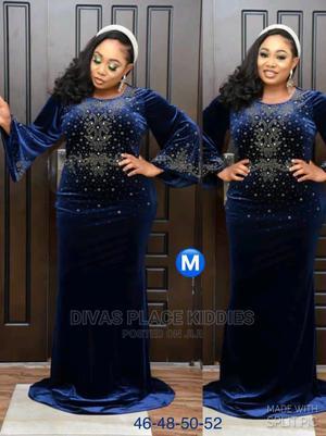 Velvet Mamas Dress | Clothing for sale in Lagos State, Ojota