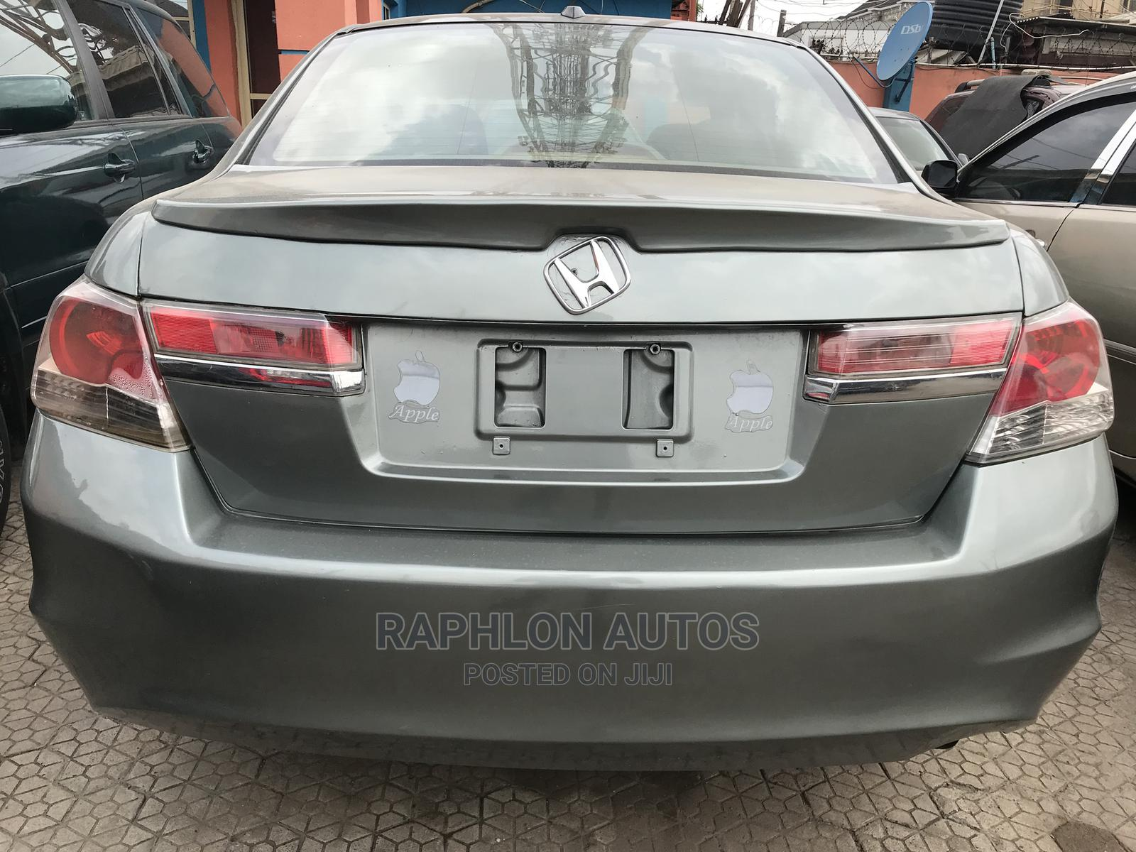 Honda Accord 2008 2.4 EX Automatic Green | Cars for sale in Ikeja, Lagos State, Nigeria