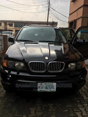 BMW X5 2003 4.4i Black | Cars for sale in Lagos State, Ogba