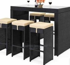 Modern Set High Bar Stool, Chairs and Table | Furniture for sale in Lagos State, Ojo