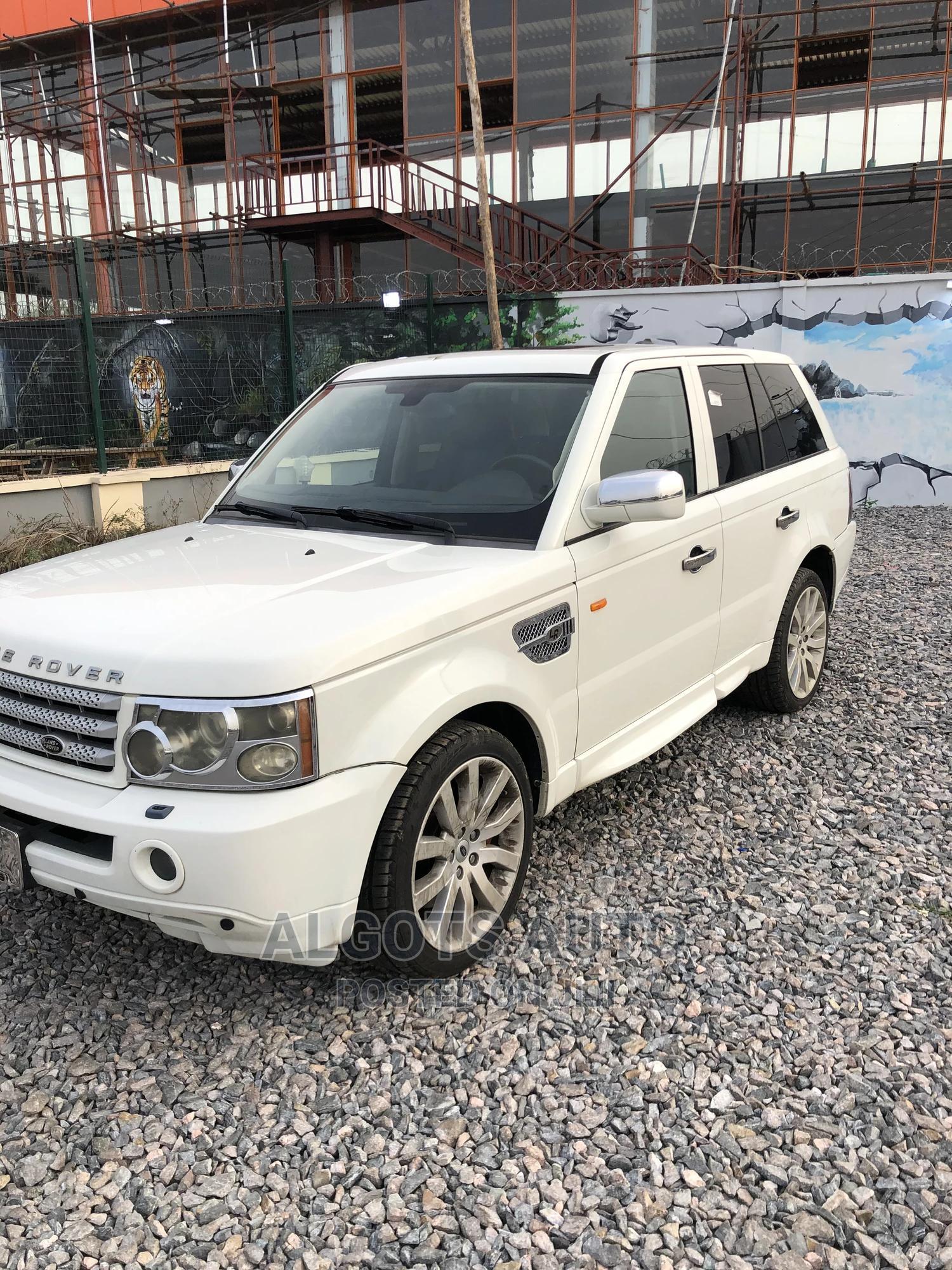 Archive: Land Rover Range Rover Sport 2007 White