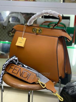 Original Brown Female Fendi Handbag   Bags for sale in Lagos State, Isolo