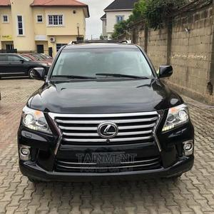 Lexus LX 2015 570 Base Black   Cars for sale in Lagos State, Ogba