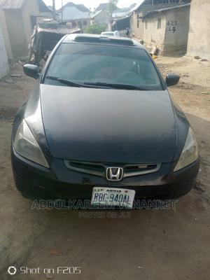Honda Accord 2005 2.4 Type S Black | Cars for sale in Abuja (FCT) State, Jabi