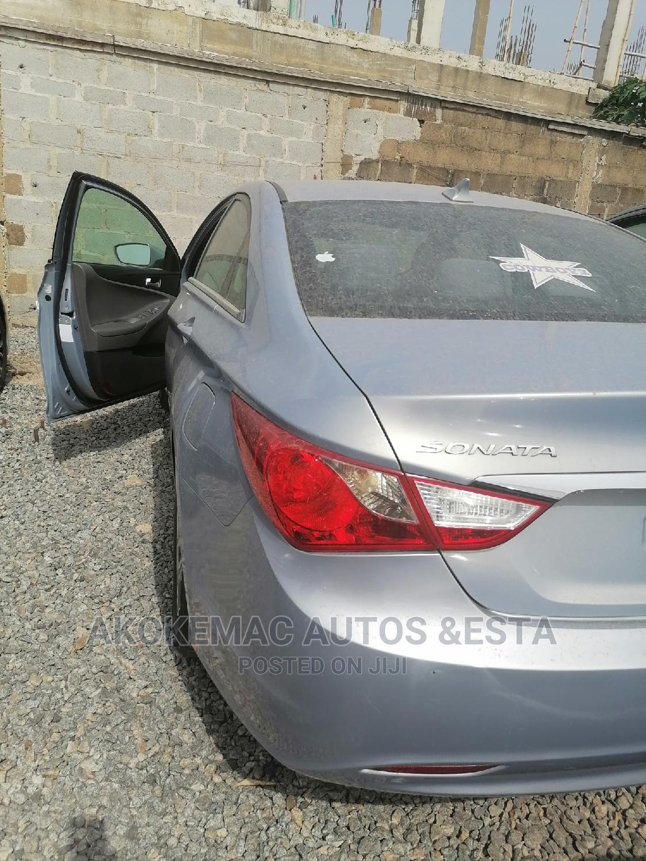 Hyundai Sonata 2011 Blue | Cars for sale in Ikeja, Lagos State, Nigeria