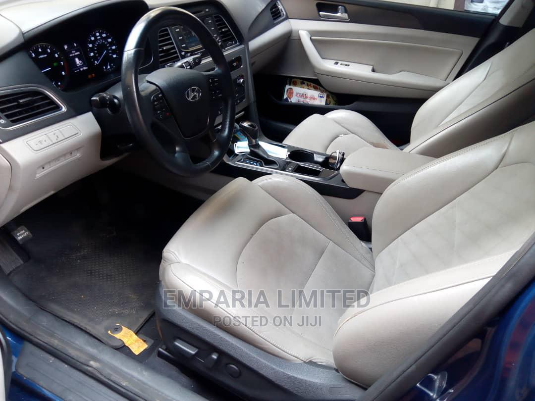 Hyundai Sonata 2015 Blue | Cars for sale in Magodo, Lagos State, Nigeria