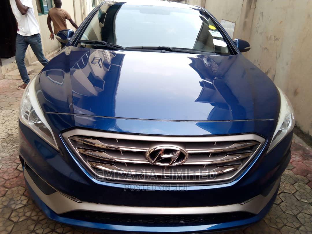 Hyundai Sonata 2015 Blue