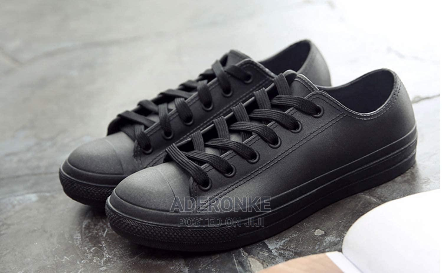 Casual Jelly Sneakers - Black or Pink   Shoes for sale in Ikeja, Lagos State, Nigeria