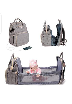 3 In 1 Diaper Foldable Bag And Bed With USB   Baby & Child Care for sale in Lagos State, Ikeja