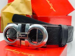 Original Salvatore Ferragamo Leather Belts Available | Clothing Accessories for sale in Lagos State, Surulere