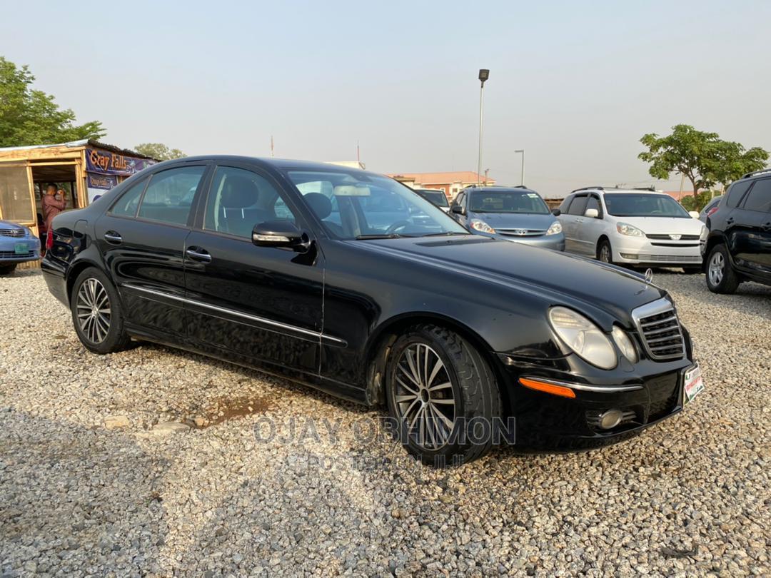 Mercedes-Benz E350 2007 Black   Cars for sale in Jahi, Abuja (FCT) State, Nigeria
