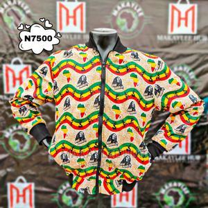 Ankara Varsity Jacket | Clothing for sale in Oyo State, Ibadan