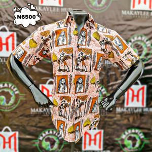 Ankara Tribal Vintage Shirt | Clothing for sale in Oyo State, Ibadan