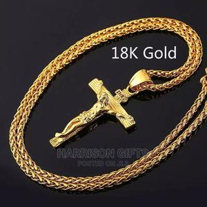 Men Fashion Gold Color Cross   Jewelry for sale in Lagos State, Victoria Island