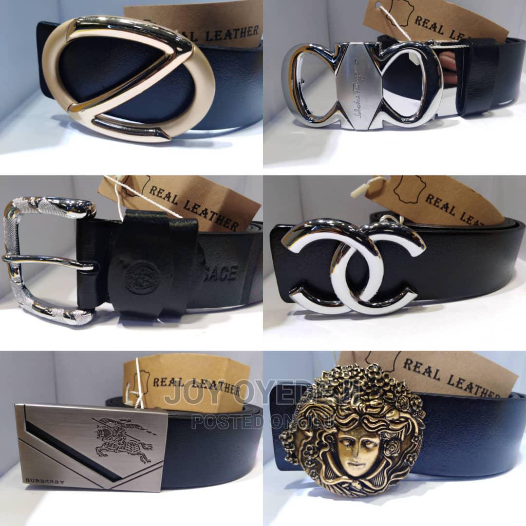 Archive: Designer Men's Leather Belt