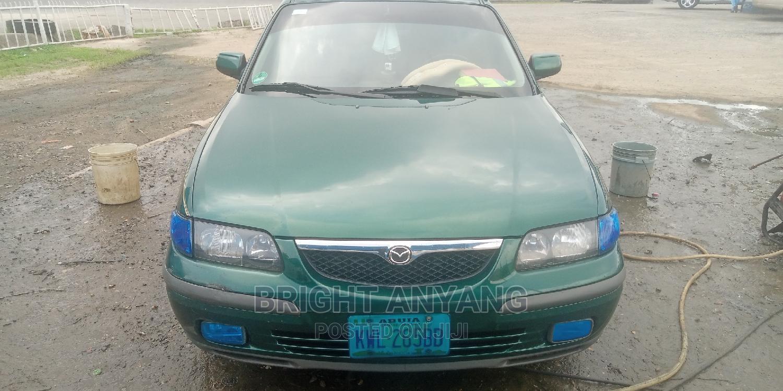 Mazda 626 2002 Green