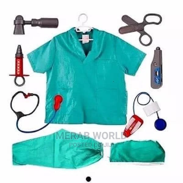 Kid's Medical Doctor Costume Set