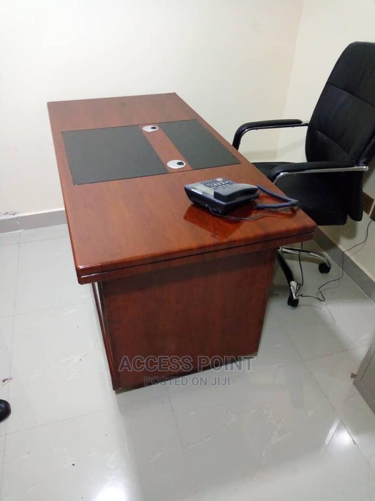 Executive Office Table and Executive Office Chair