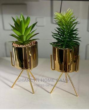 Flower Vase With Metal Stand | Home Accessories for sale in Lagos State, Ikeja