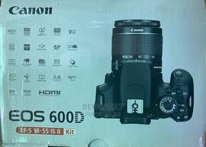 Canon EOS 600d+18-55mm Kit Lens | Photo & Video Cameras for sale in Lagos State, Ikeja