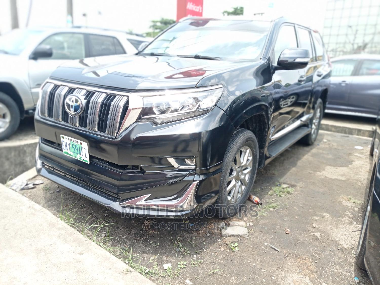Toyota Land Cruiser Prado 2017 Black | Cars for sale in Apapa, Lagos State, Nigeria