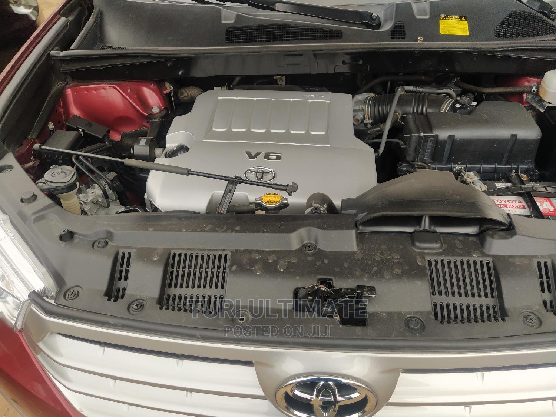 Archive: Toyota Highlander 2008 Sport Red