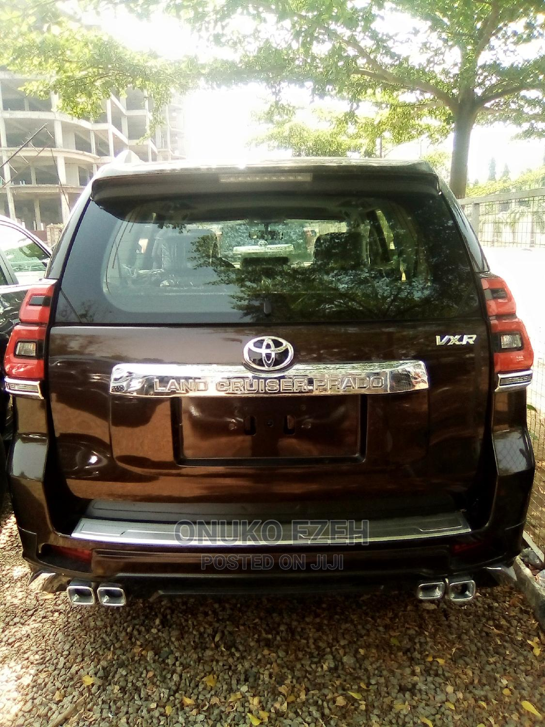 New Toyota Land Cruiser Prado 2020 Brown | Cars for sale in Central Business Dis, Abuja (FCT) State, Nigeria