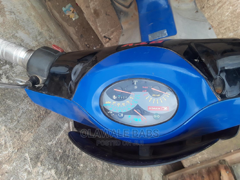 Suzuki Bike 2018 Blue
