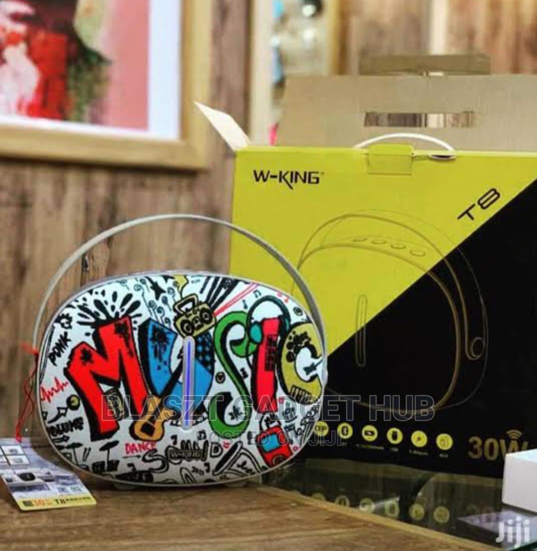 W King T8 Portable Wireless Subwoofer | Audio & Music Equipment for sale in Ikoyi, Lagos State, Nigeria