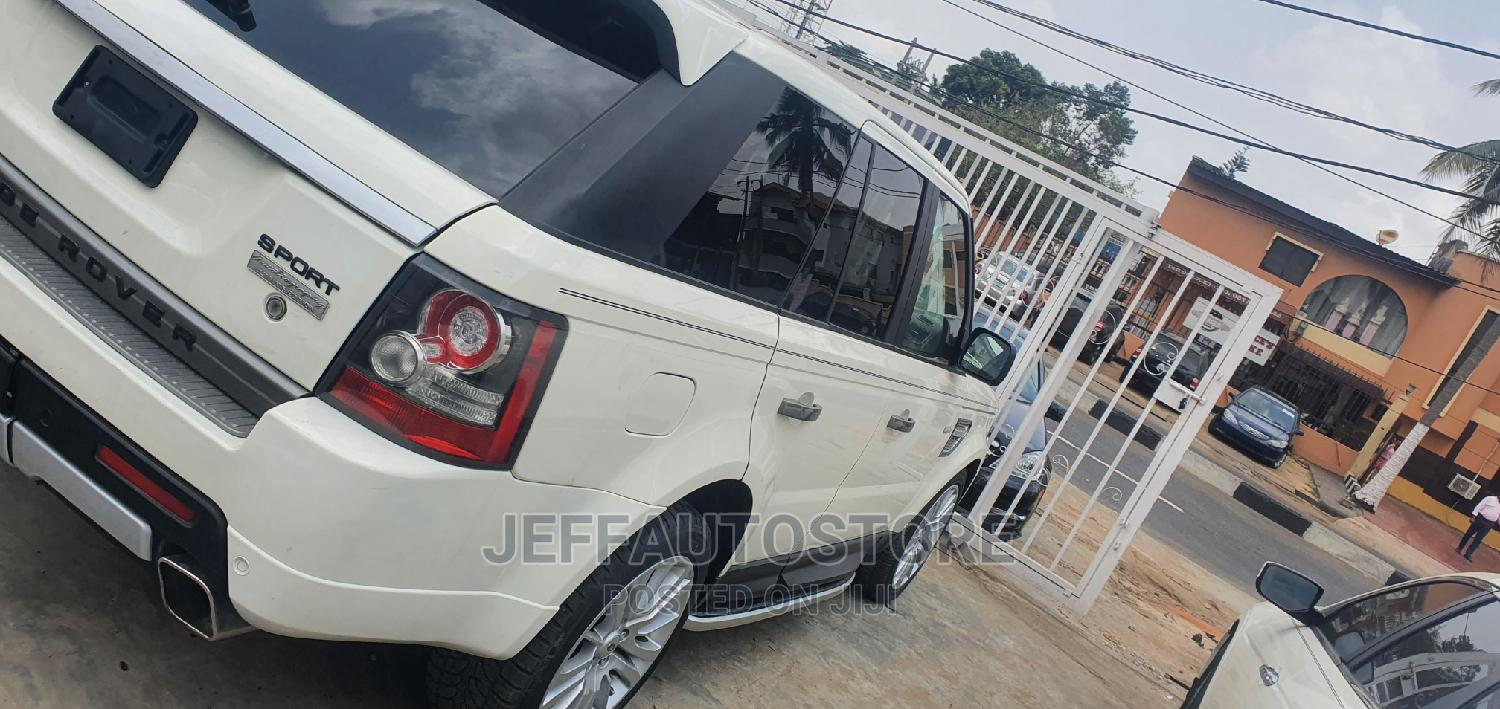 Land Rover Range Rover Sport 2011 White | Cars for sale in Ikeja, Lagos State, Nigeria