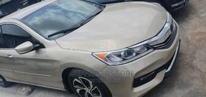 Honda Accord 2017 Gold   Cars for sale in Lagos State, Ikeja