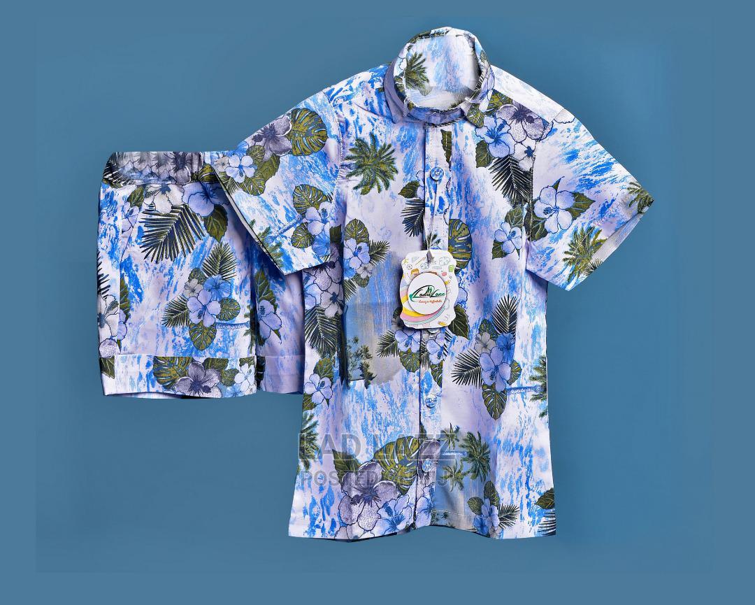 Tropical Shirt and Short