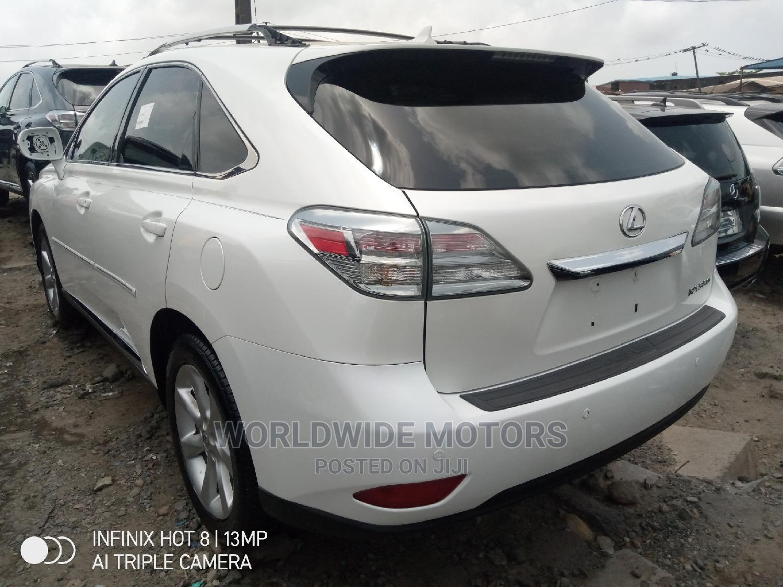 Lexus RX 2012 350 AWD White | Cars for sale in Apapa, Lagos State, Nigeria