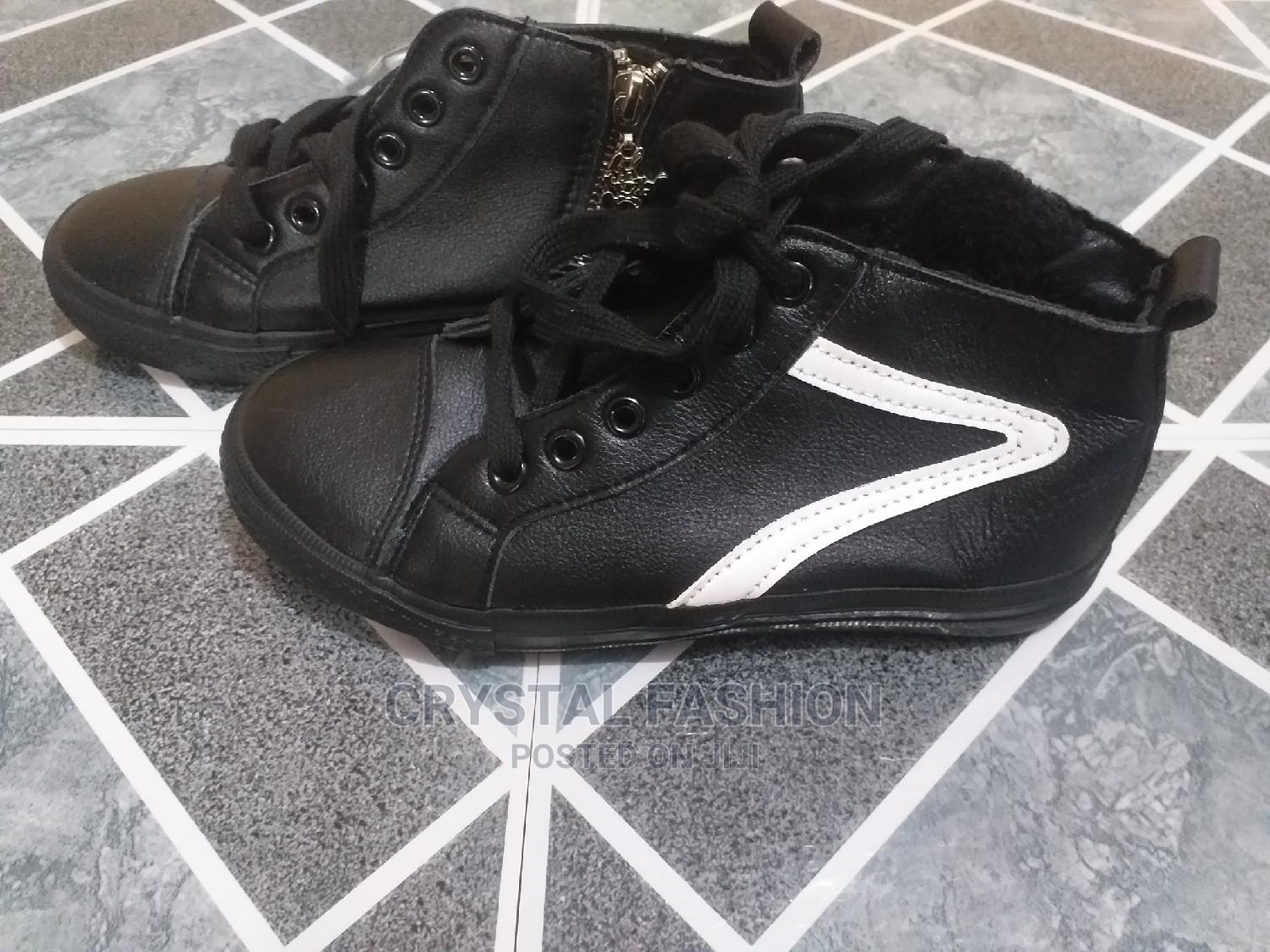 Archive: Cute Leather Baby Ankle Length Shoe