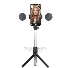 Selfie Stick With Light YB-R12 | Accessories for Mobile Phones & Tablets for sale in Abuja (FCT) State, Wuse 2