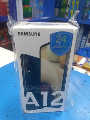 New Samsung Galaxy A12 64 GB Blue   Mobile Phones for sale in Lagos State, Ikeja