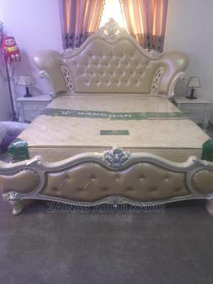 Royal Bed Without Wardrobe And Mattress   Furniture for sale in Abuja (FCT) State, Apo District