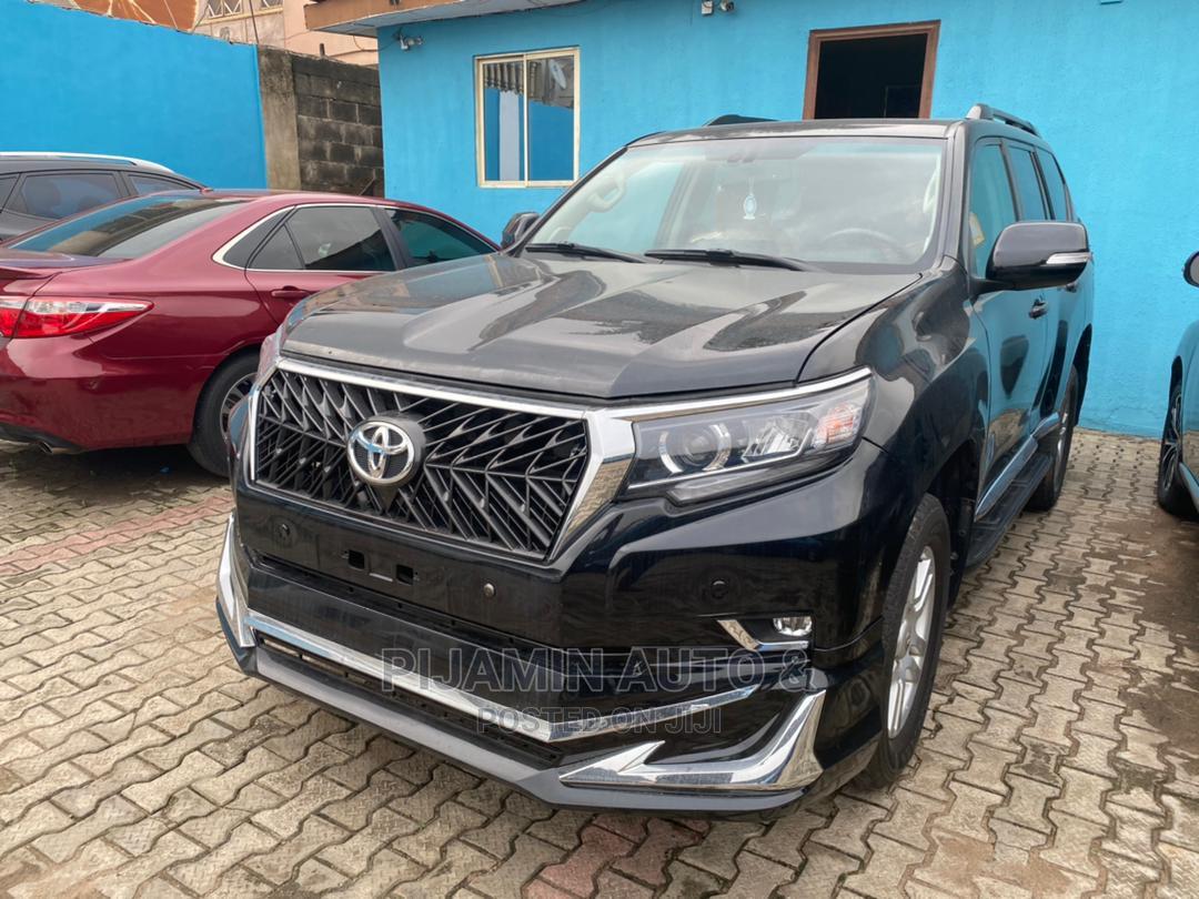 Toyota Land Cruiser Prado 2019 Limited Black   Cars for sale in Ikeja, Lagos State, Nigeria