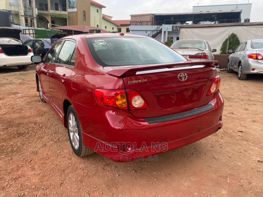 Toyota Corolla 2009 Red | Cars for sale in Ikeja, Lagos State, Nigeria