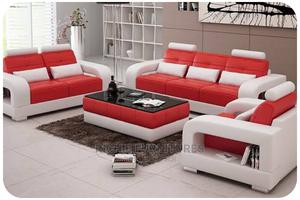 Modern 7 Seater Set of Sofa With Center Table | Furniture for sale in Lagos State, Ikeja