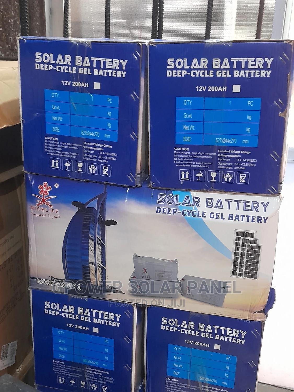 Solar Battery 200ah 12v