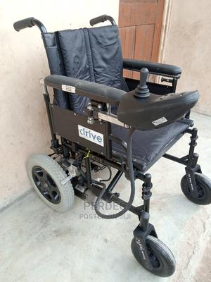 Foldable Electric Wheelchair   Medical Supplies & Equipment for sale in Lagos State, Ikeja