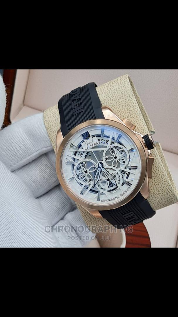 TAG HEUER Rubber Strap Watch | Watches for sale in Lekki, Lagos State, Nigeria