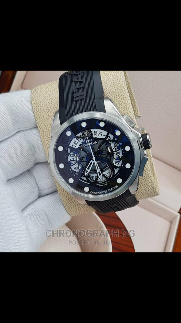 TAG HEUER Rubber Strap Watch