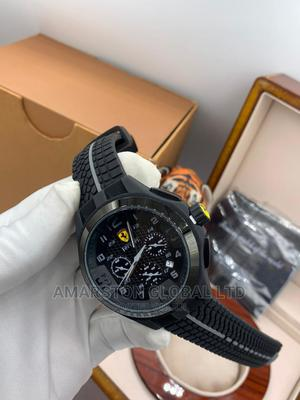 Ferrari Watch Working Chronograph   Watches for sale in Lagos State, Surulere