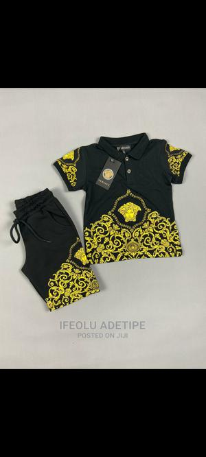 Boys' 2-Piece Polo With Short (Turkey Brand) | Children's Clothing for sale in Lagos State, Surulere