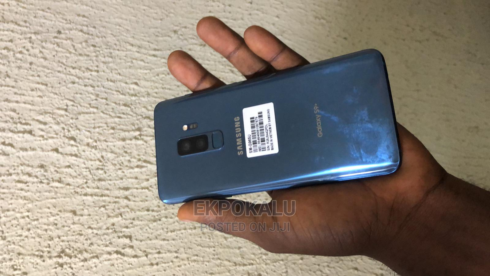 New Samsung Galaxy S9 Plus 64 GB Blue | Mobile Phones for sale in Ikeja, Lagos State, Nigeria