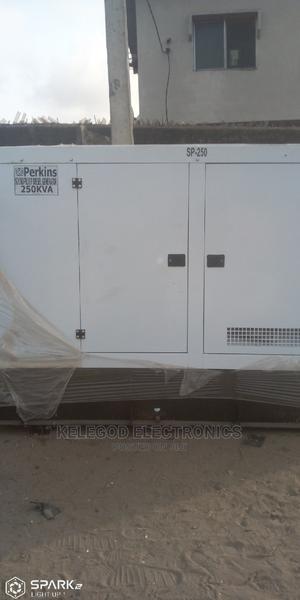 250 Kva Perkins Soundproof Diesel Generator | Electrical Equipment for sale in Lagos State, Eko Atlantic