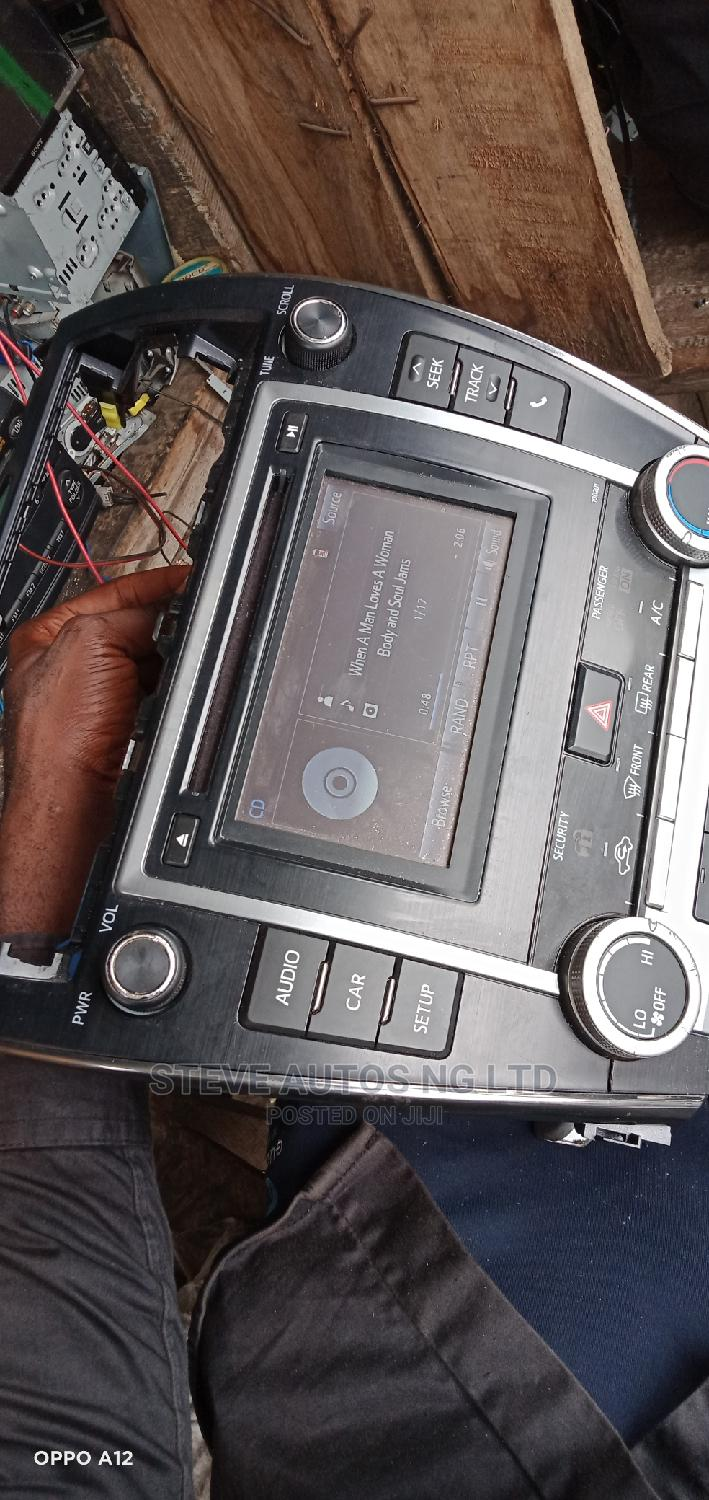 Toyota Camry Hybrid Car Radio | Vehicle Parts & Accessories for sale in Isolo, Lagos State, Nigeria