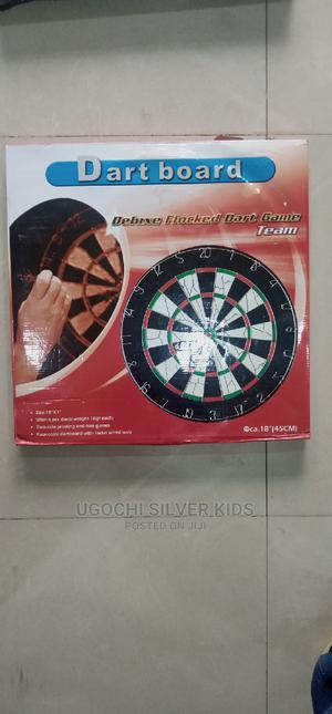 Brand New Flocked Dartboard | Books & Games for sale in Lagos State, Surulere